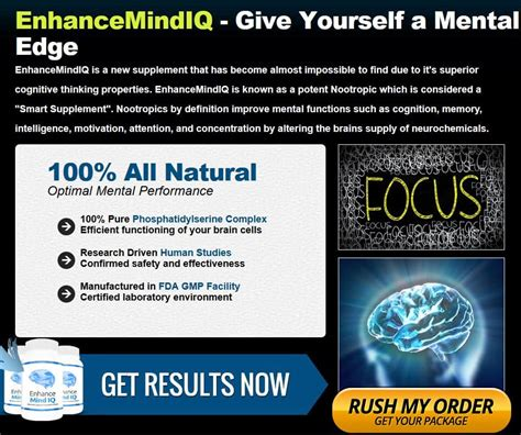Enhance Mind Iq Detox by Enhance Mind Iq Reviews Pills Price Side Effects Scam