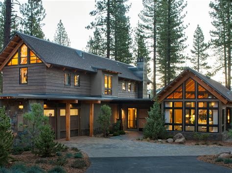 modern mountain homes modern mountain architecture hgtv cabin and stone driveway