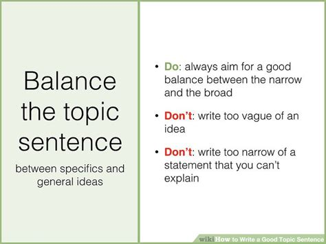 How To Make A Topic Sentence For A Research Paper - writing a topic sentence okl mindsprout co