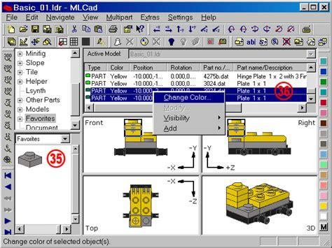 lego mlcad tutorial holly wood it gt mlcad gt tutorial digital building page