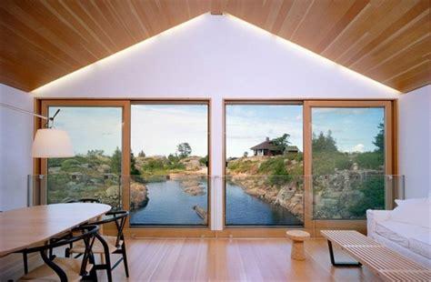 house design large windows drijvend huis in het huron meer in canada gimmii shop