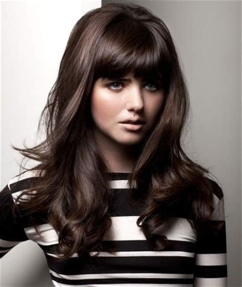hairstyles for straight puffy hair 93 best images about long hairstyles for women on