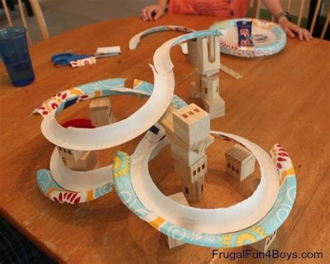 How To Make A Paper Roller Coaster Hill - 354 best science engineering projects images on