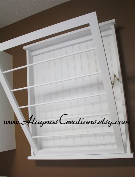 Diy Clothes Dryer Drying Rack Laundry Wall Mounted Tv Hydration Pack