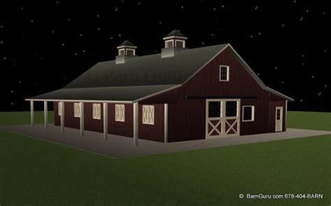 Horse Stall Floor Plans barn plans 7 stall horse barn design floor plan