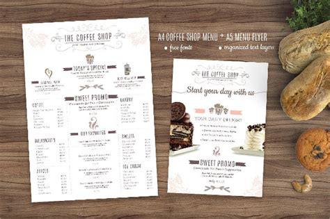 25 coffee menu templates free premium download