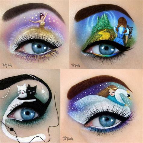 imagenes ojos raros 8 artistas de maquillajes raros que debes seguir en