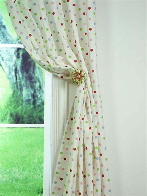 sheer polka dot curtains polka dot curtain soozone