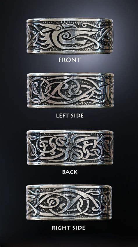 best 25 viking rings ideas on celtic wedding