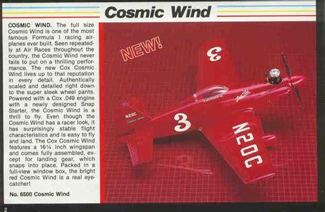 testors cox cosmic wind