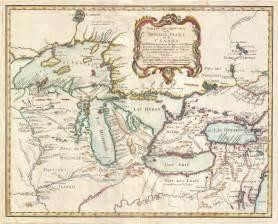 map of the pays d en haut 1755 cliosphere