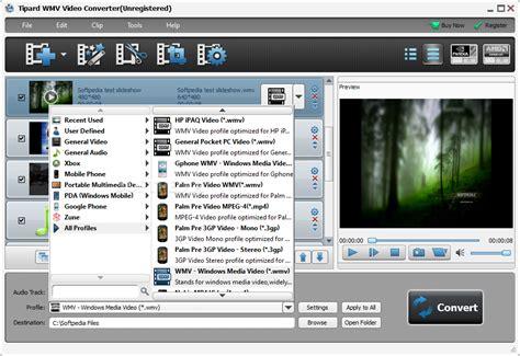 wmv format converter tipard wmv video converter download