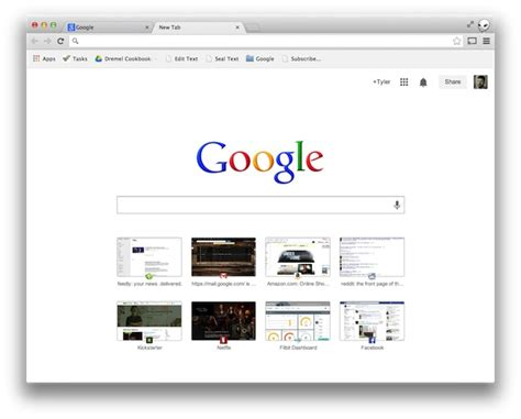 chrome new tab google starts rolling out reved new tab page for chrome