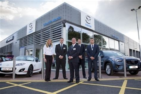 mazda motors uk uk mazda aims for new look dealers by march automotive