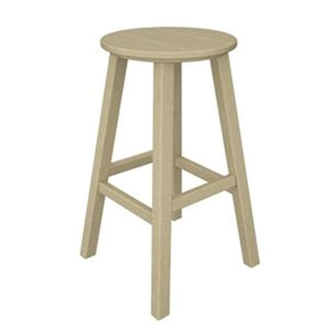 traditional counter height bar stool by polywood polywood traditional bar height bar stool bar230