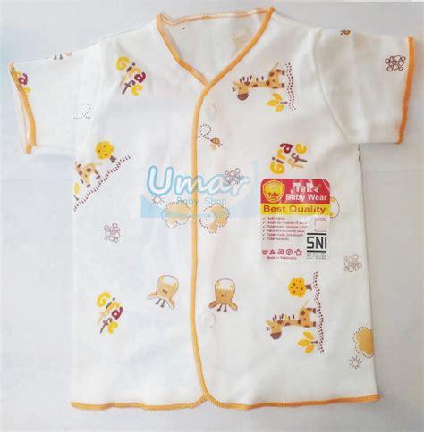 Baju Bayi Baju Baby Baju Bayi Lengan Pendek Smart Lsb1 jual murah baju bayi lengan pendek tara new born putih