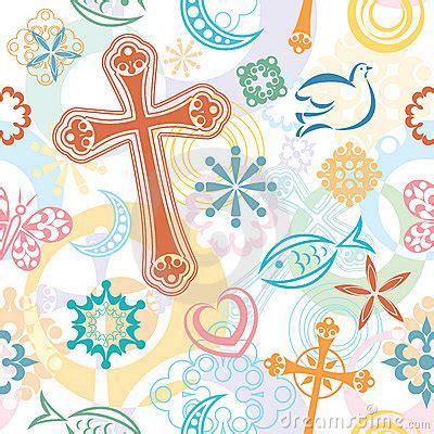 antique pattern library com christian symbols seamless pattern