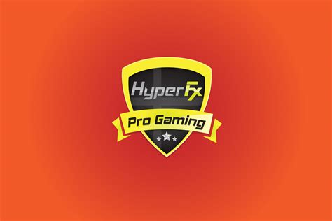 hyperfx great gaming logo gamers logo
