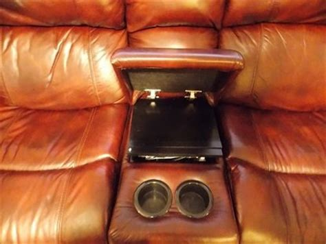 rocker recliner with cup holder leather rocker recliner with cup holders for sale in