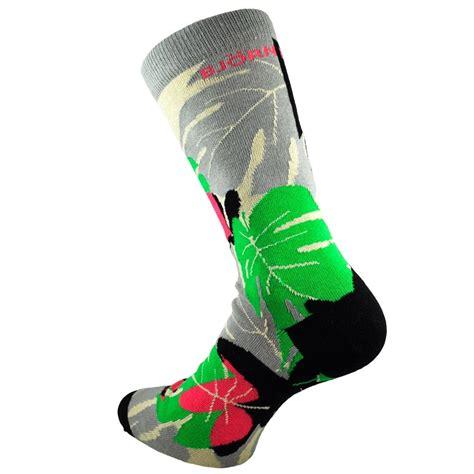 grey patterned socks bjorn borg black green pink grey ivory leaf patterned