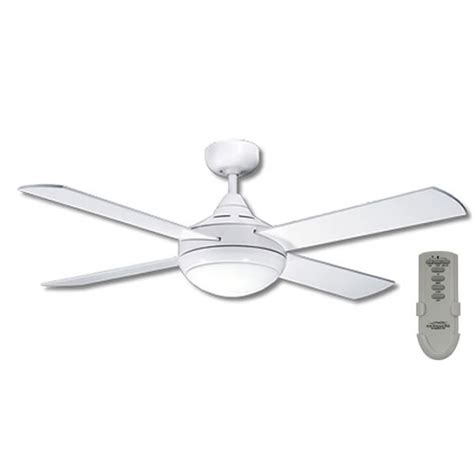 remote ceiling fans with light primo ceiling fan with light and remote in white 48