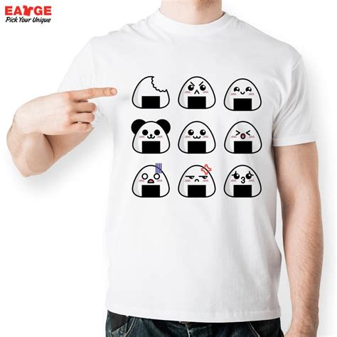 T Shirtmotif 3 mascube japanese sushi t shirt design inspired by smile t shirt style cool fashion casual