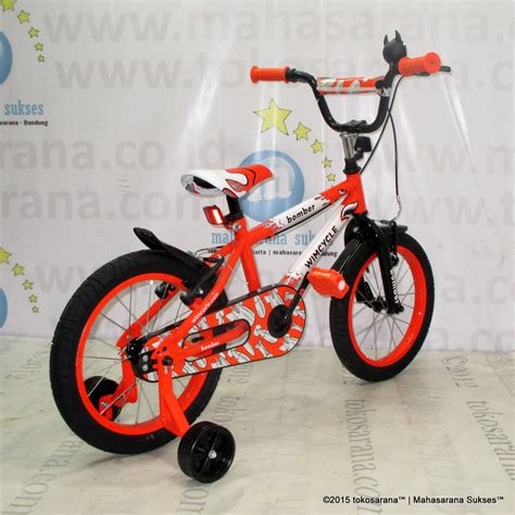Sepeda Bmx 16 sepeda anak wimcycle bomber bmx 16 inci orange news