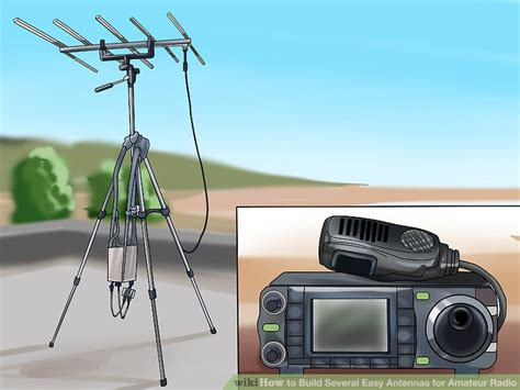 how to build several easy antennas for radio