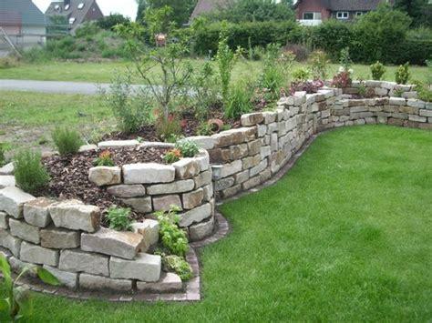 garten natursteine natursteine und garten gestalten garten trockenmauer