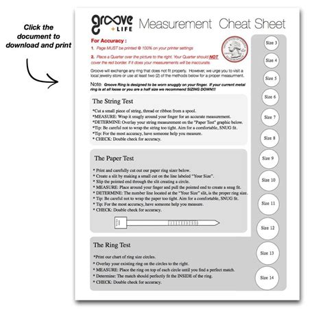 printable ring size sheet expedited 2 day shipping fee groove life silicone rings