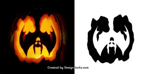 halloween scary pumpkin carving stencils patterns