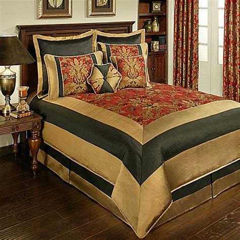 sherry kline bedding buy sherry kline milano king comforter set in red from bed