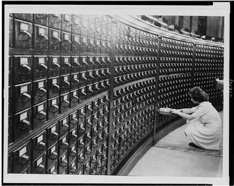 library of congress reading ls woman at main reading room card catalog in the library of