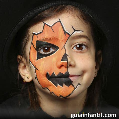 imagenes de halloween para pintar la cara 3 propuestas de maquillaje para vuestros peques en