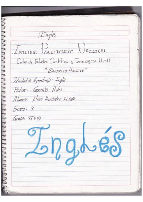 presentacion para cuadernos lindos apexwallpapers com cuaderno completo de ingles