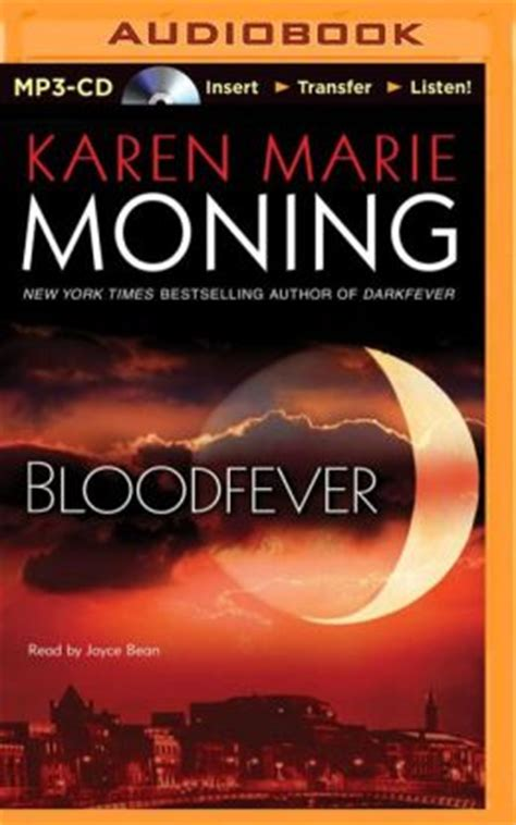 bloodfever fever series book 2 bloodfever fever series 2 by moning
