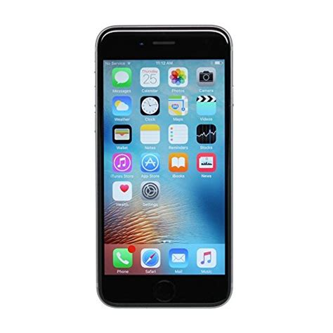 apple iphone 6s plus t mobile 16gb space gray renewed mk library