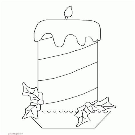 imagenes de coronas navideñas para niños dibujos de velas de navidad para colorear