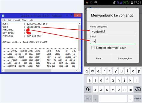 cara membuat akun vpn softether tutorial cara vpn softether di android