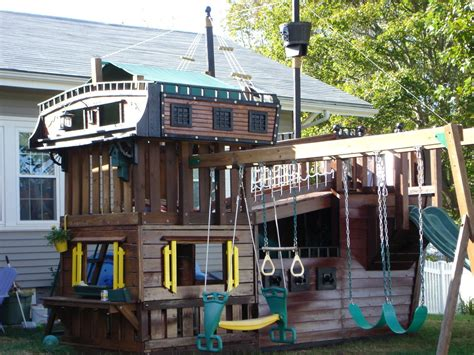 pirate ship swing set for sale backyard sailing 13 play house ships for the aspiring pirate