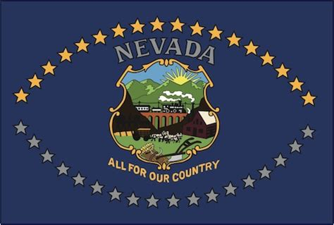 nevada state colors the history of the nevada state flag news