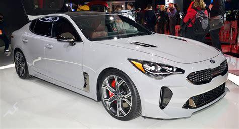 New Kia New Kia Stinger Shows Its Colors In Detroit