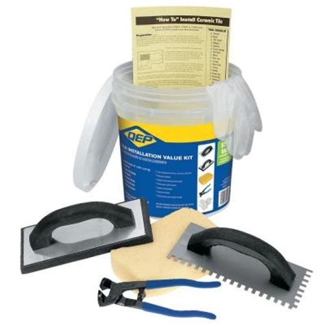 Tile Installation Tools Qep Tile Installation Tool Kit For Floors 78220q The Home Depot