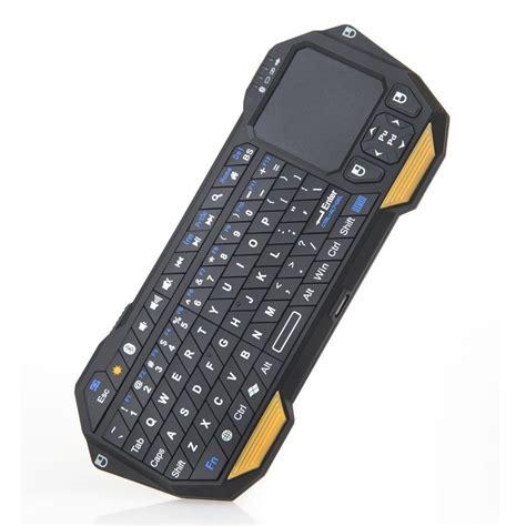 Qq Keyboard Bluetooth Mini Dengan Touchpad Mouse 1 qq keyboard bluetooth mini dengan touchpad mouse black