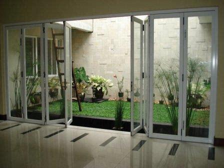 Jual Pintu Lipat Aluminium Kaca Harga Murah Jakarta oleh
