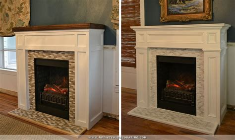 Green Marble Fireplace Makeover by Fireplace Makeover From Craftsman To Traditional