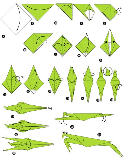 Origami Mantis - origami of praying mantis