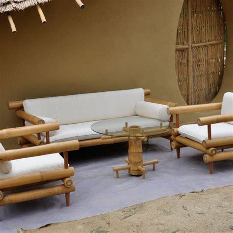 Bamboo Table L Design Bamboo Furniture At Chiangmai Construction Clc