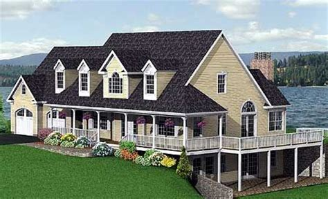 nice house plans wrap around porch 3 country house plans three sided wrap around porch