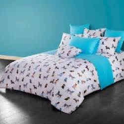 twin amp queen size dog puppy theme duvet cover bedding set